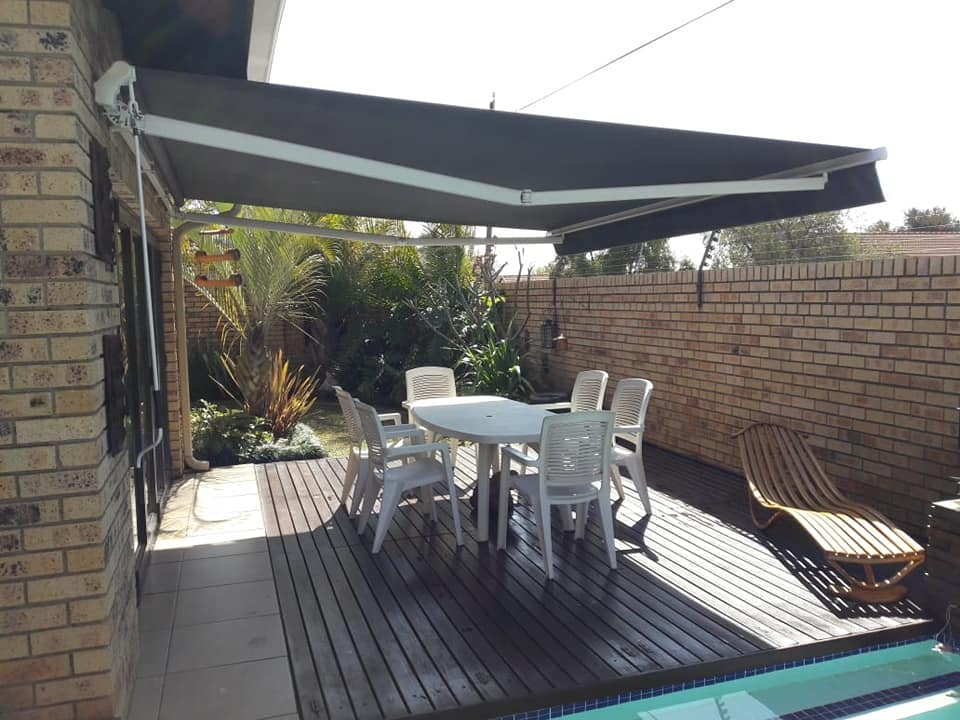 Foldarm Retractable Awnings Blinds Connection Pretoria Blinds